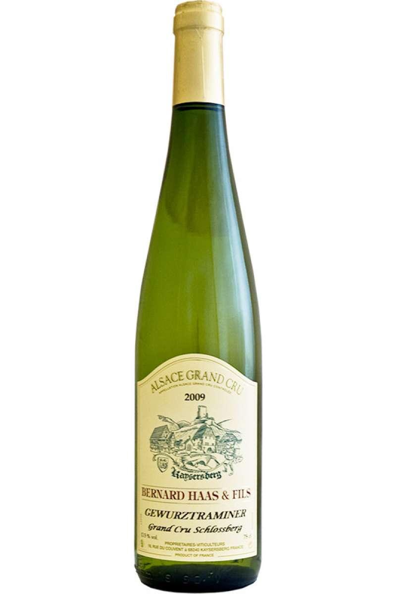 Gewürztraminer, Grand Cru Schlossberg, Bernard Haas & Fils, Côtes de Kaysersberg, Alsace, 2016