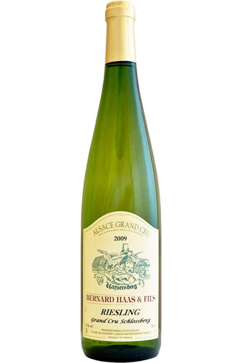 Riesling, Grand Cru Schlossberg, Bernard Haas & Fils, Côtes de Kaysersberg, Alsace, 2011