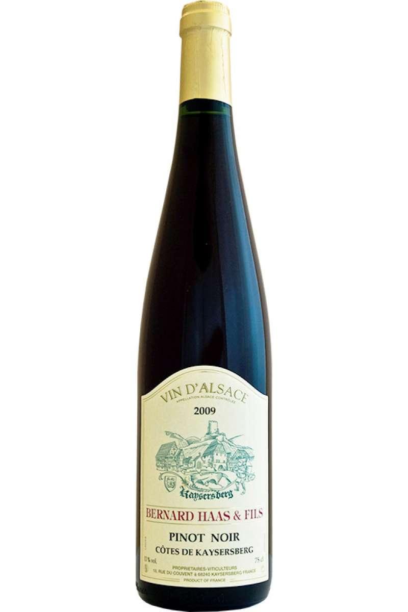 Pinot Noir, Reserve Personnelle, Bernard Haas & Fils, Côtes de Kaysersberg, Alsace, 2018