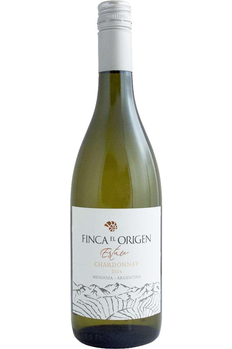 Chardonnay, Estate Range, Finca el Origen, Uco Valley, Mendoza, Argentina, 2018
