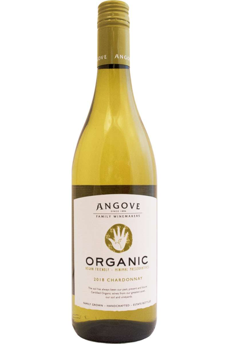 Chardonnay, Organic, Angove, McLaren Vale, Australia, 2018