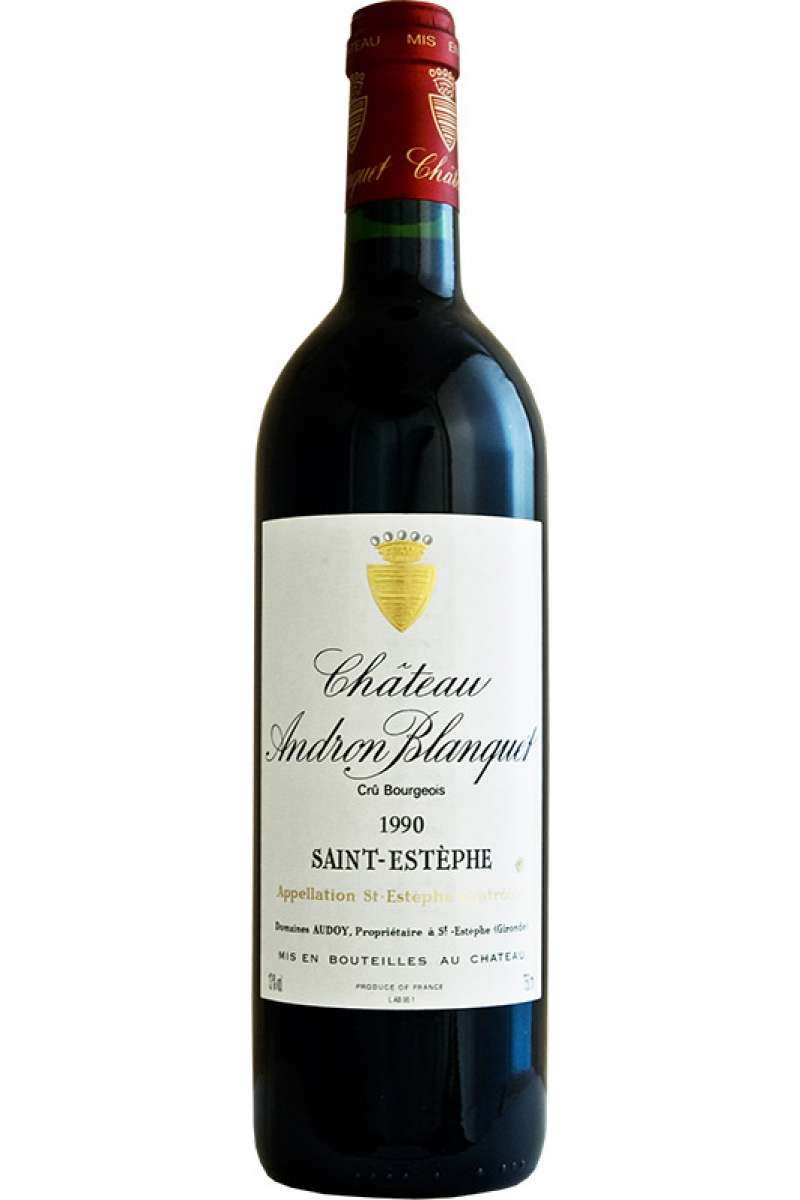 Chateau Andron Blanquet, Cru Bourgeois, St. Estephe, France, 1990