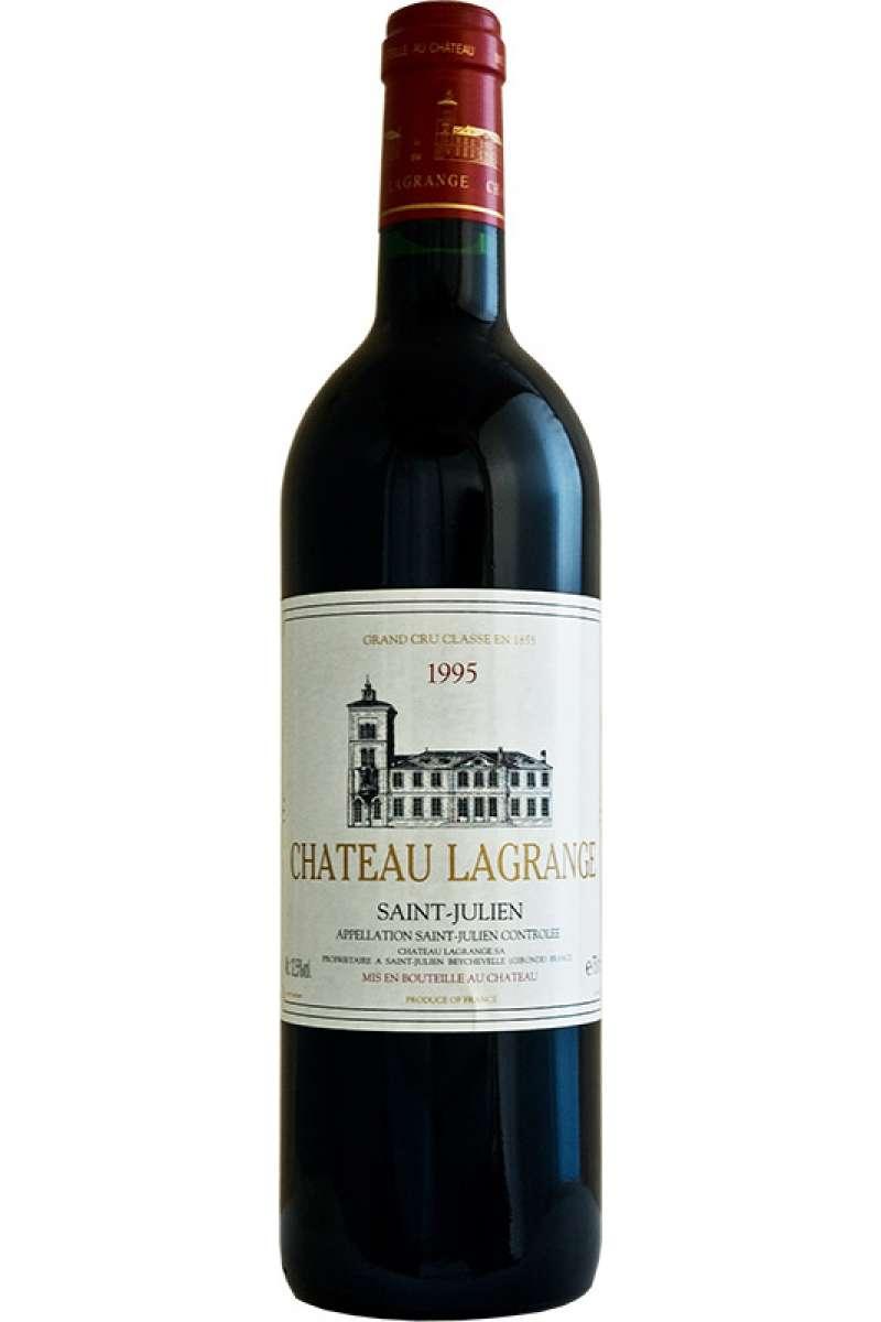 Chateau Lagrange, 3éme Cru Classé, Saint-Julien AOC, Bordeaux, France, 1995