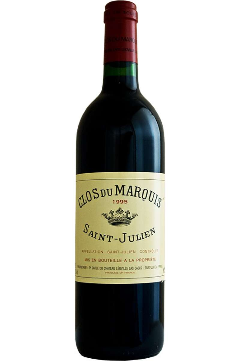 Chateau Clos du Marquis, 2nd Chateau Leoville Las-Cases, Saint-Julien AOC, Bordeaux, France, 1995