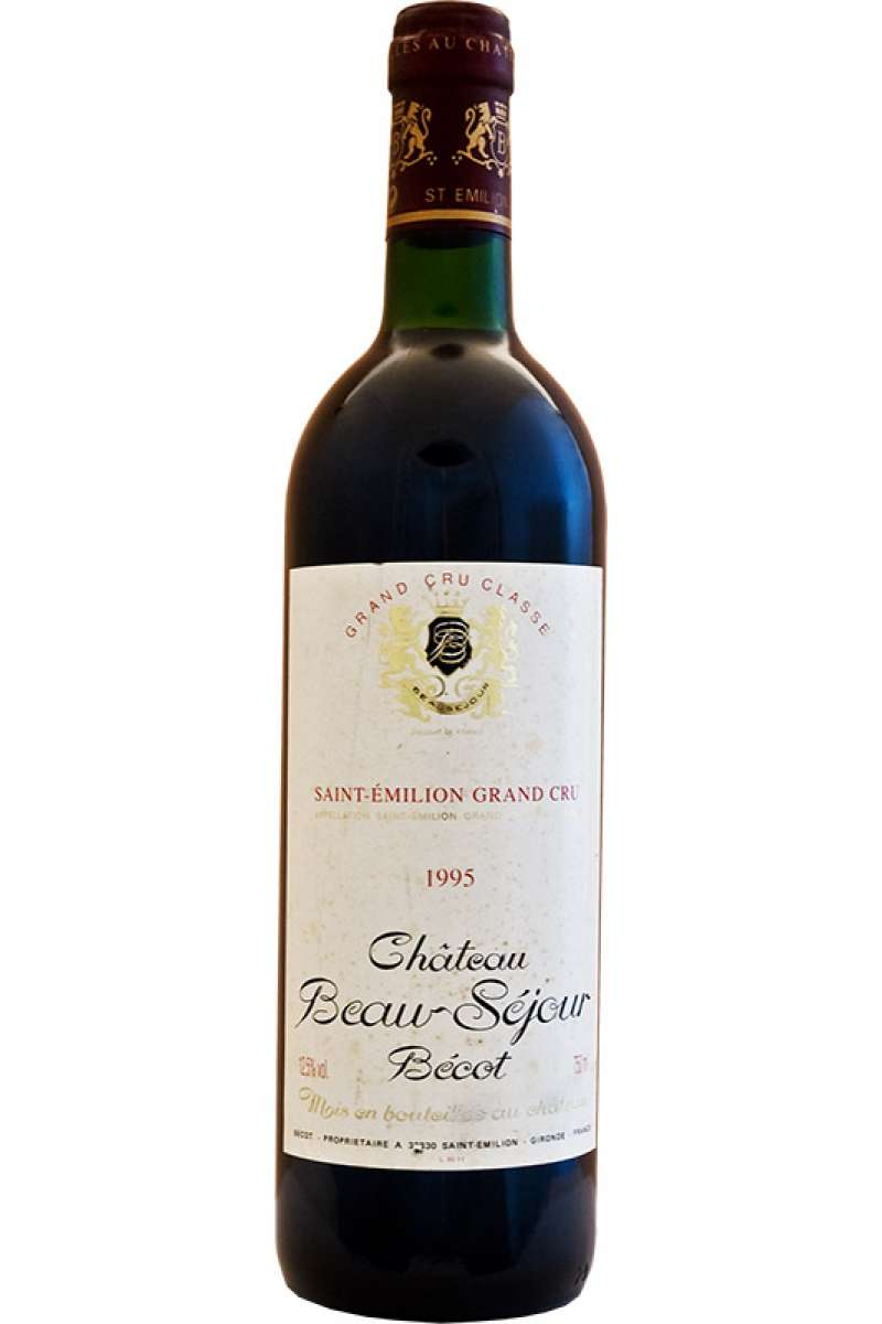 Chateau Beausejour Becot, 1er Grand Cru Classé, Saint-Émilion, Bordeaux, France, 1995