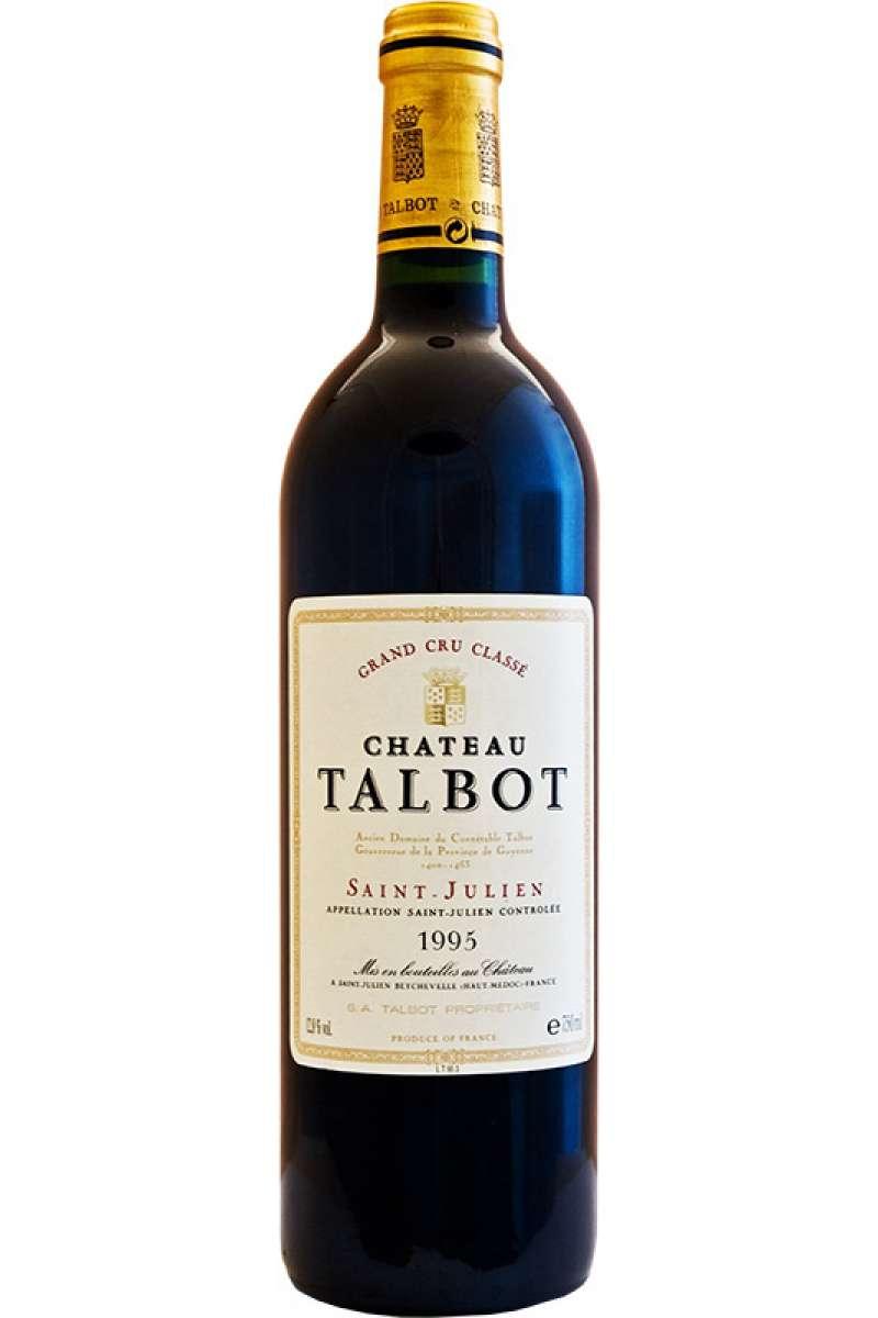 Château Talbot, 4éme Cru Classé, Saint-Julien AOC, Bordeaux, France, 1995