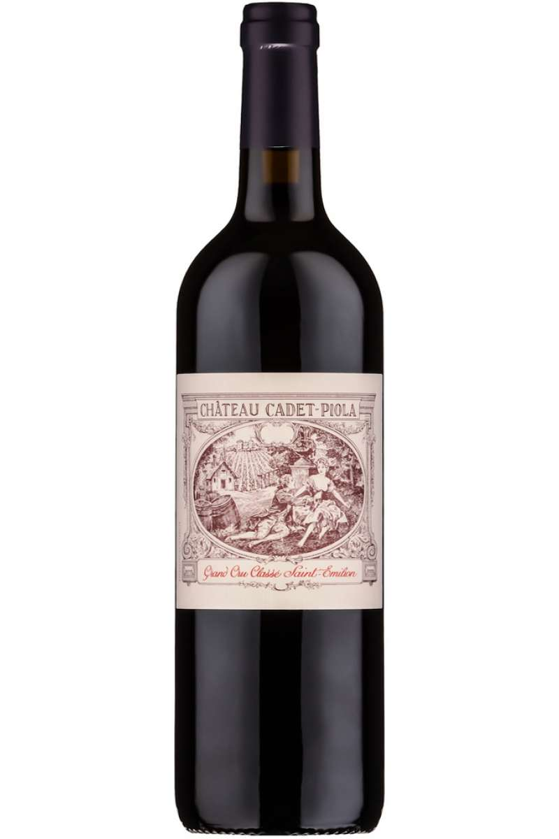 Chateau Cadet Piola, Grand Cru, Saint-Émilion, Bordeaux, France, 1995