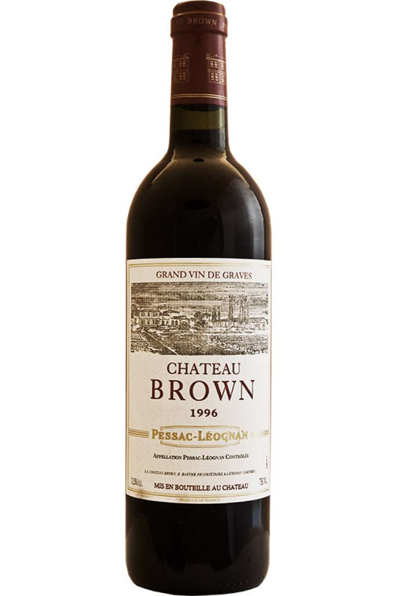 Chateau Brown Rouge, Pessac Leognan, France, 1996