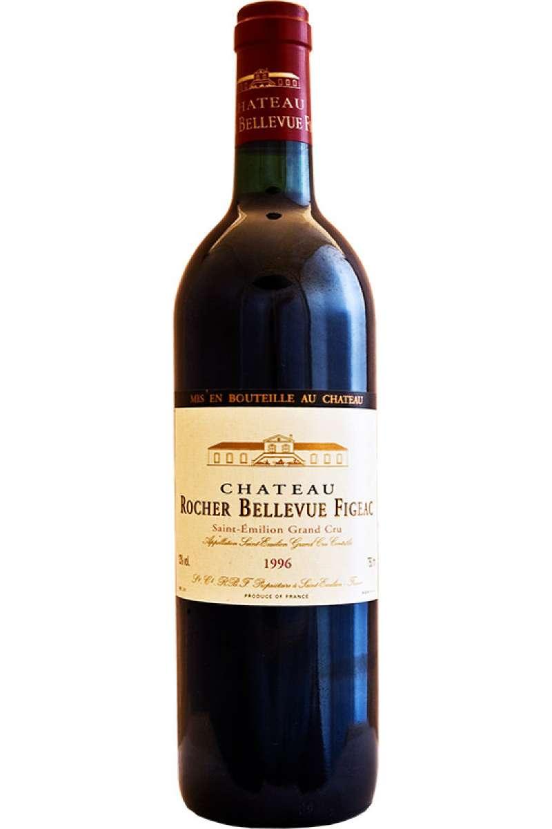 Château Rocher Bellevue Figeac, Grand Cru, Saint-Émilion, Bordeaux, France, 1996