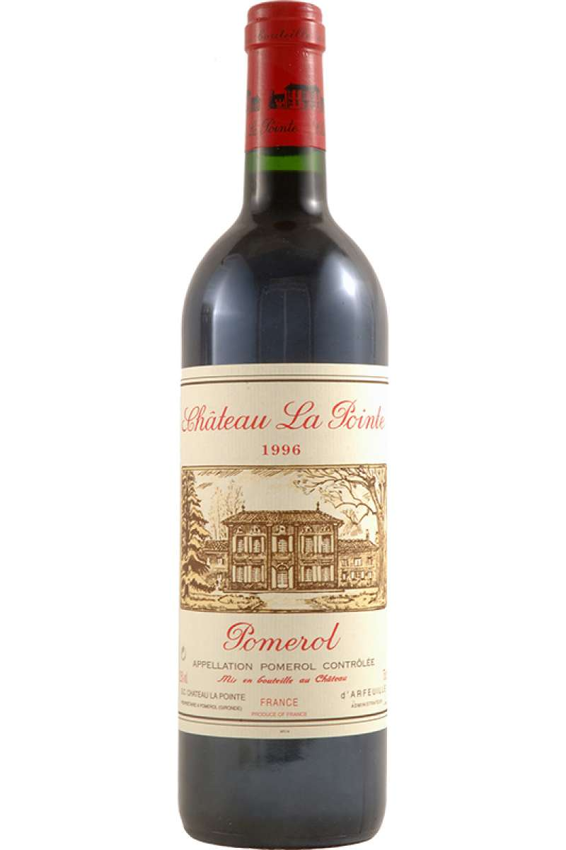 Chateau La Pointe, Pomerol, Bordeaux, France, 1996