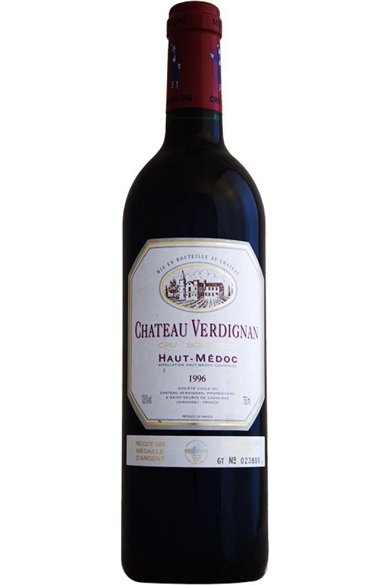 Château Verdignan, Cru Bourgeois, Haut-Medoc, France, 1996