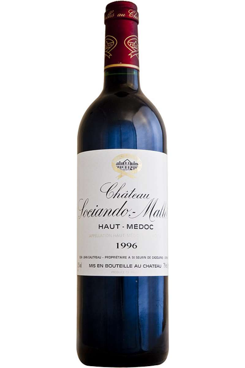 Château Sociando-Mallet, Cru Bourgeois, Haut-Medoc, France, 1996