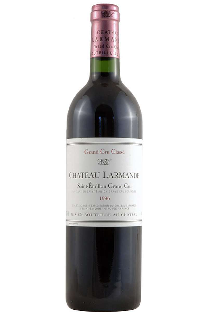 Chateau Larmande, Grand Cru Classé, Saint-Émilion, Bordeaux, France, 1996