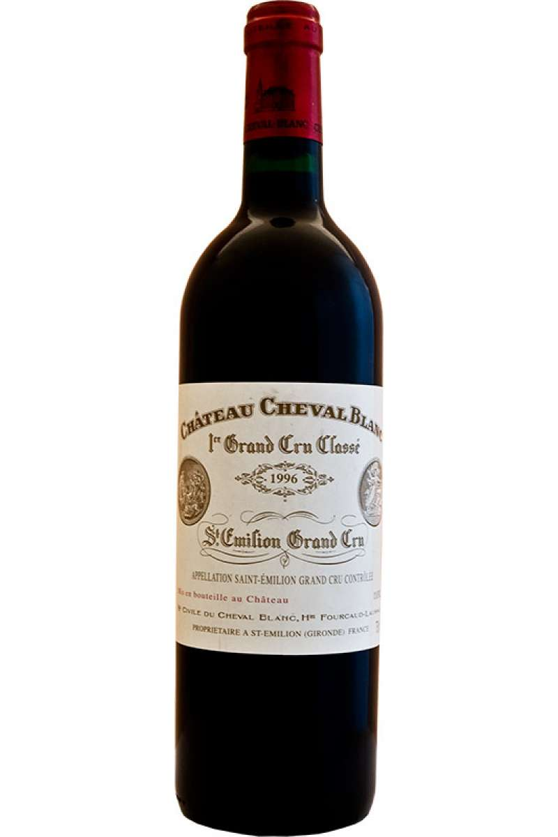 Chateau Cheval Blanc, 1er Grand Cru Classé, Saint-Émilion, Bordeaux, France, 1996