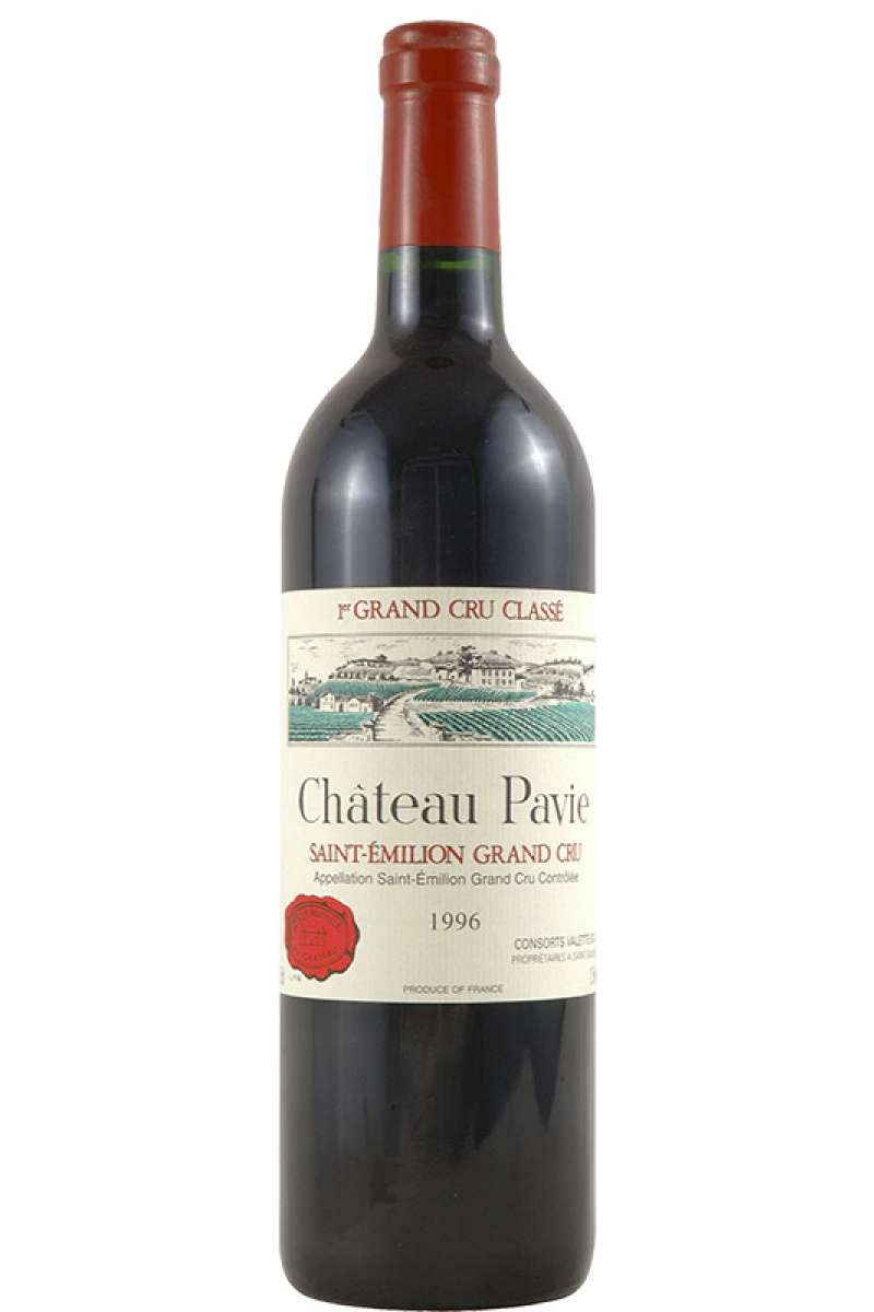 Chateau Pavie, 1er Grand Cru Classé, Saint-Émilion, Bordeaux, France, 1996