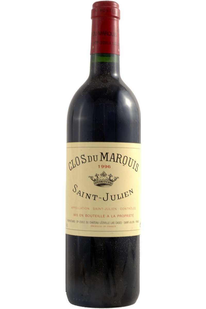 Chateau Clos du Marquis, 2éme Chateau Leoville Las-Cases, Saint-Julien AOC, Bordeaux, France, 1996