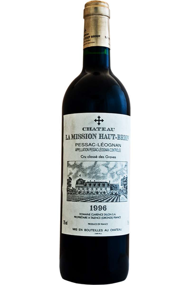 Chateau La Mission Haut Brion, Grand Cru Classé, Pessac Leognan, France, 1996