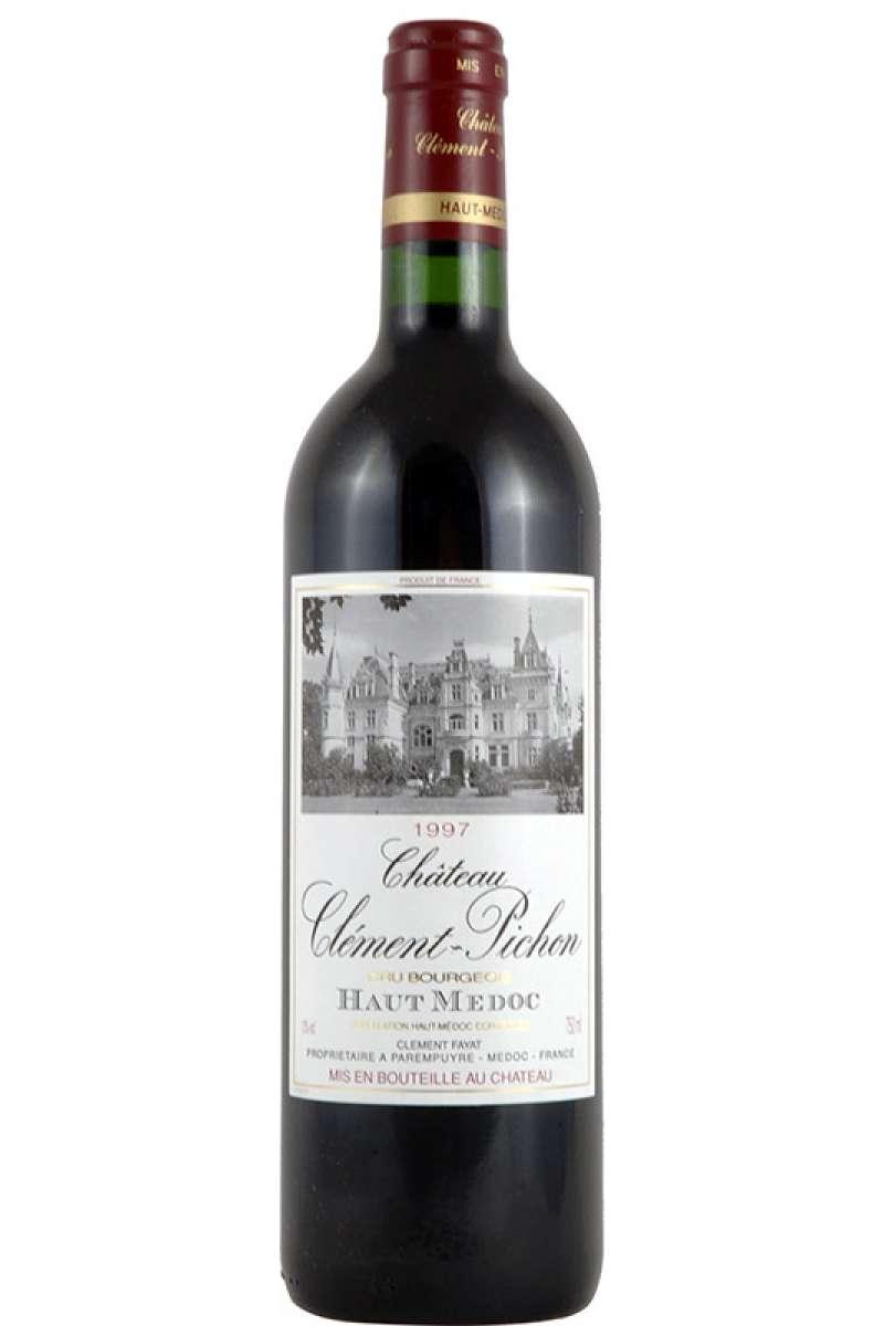 Chateau Clément Pichon, 1er Vin Cru Bourgeois, Haut-Medoc, France, 1997
