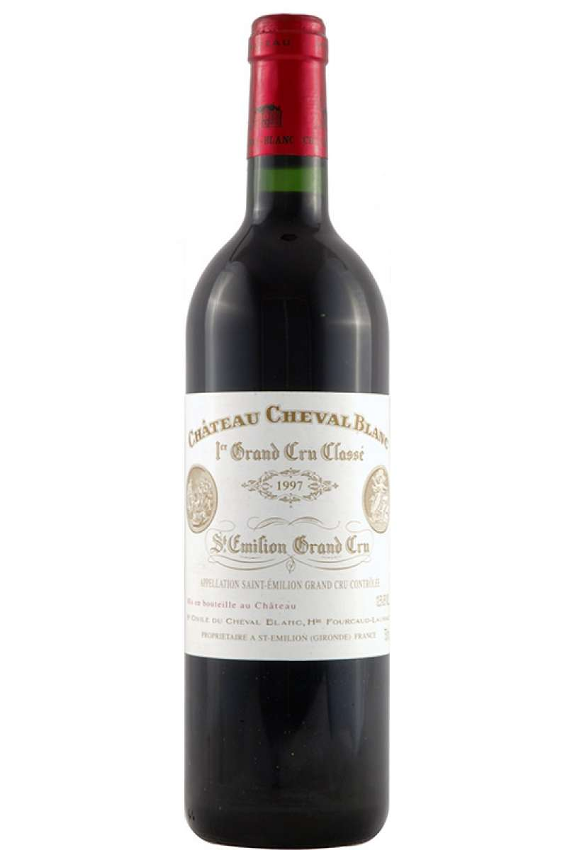 Chateau Cheval Blanc, 1er Grand Cru Classé, Saint-Émilion, Bordeaux, France, 1997