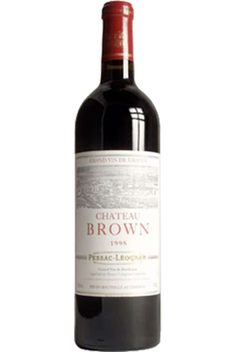 Chateau Brown Rouge, Pessac Leognan, France, 1998
