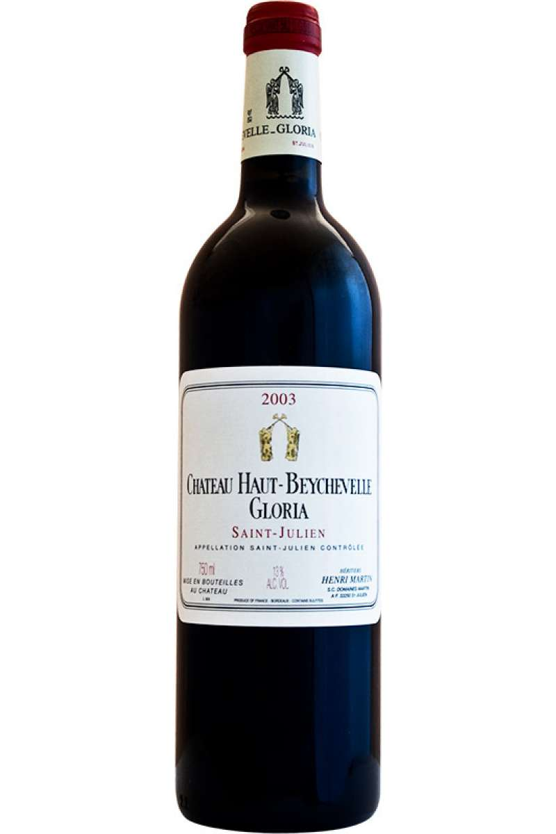 Chateau Haut Beychevelle, Gloria, Saint-Julien AOC, Bordeaux, France, 2003