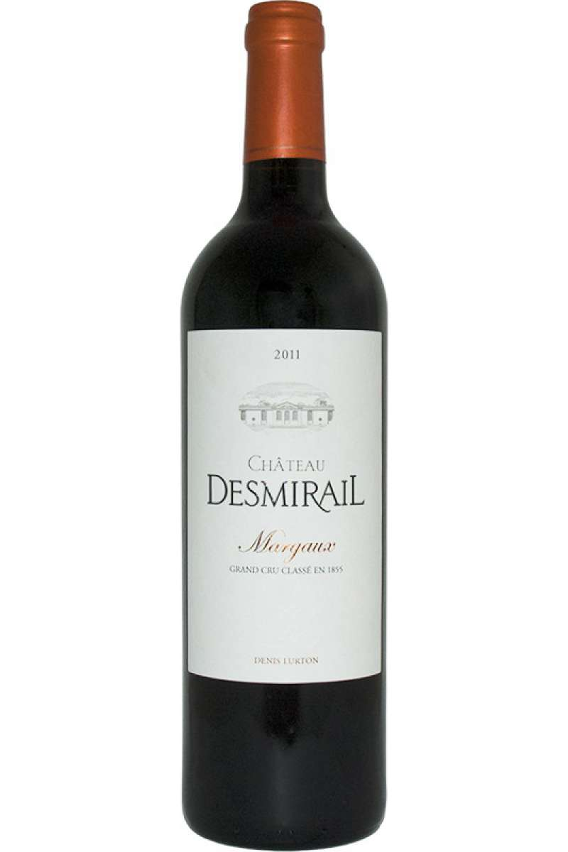 Chateau Desmirail, 3eme Grand Cru Classe, Margaux, France, 2011