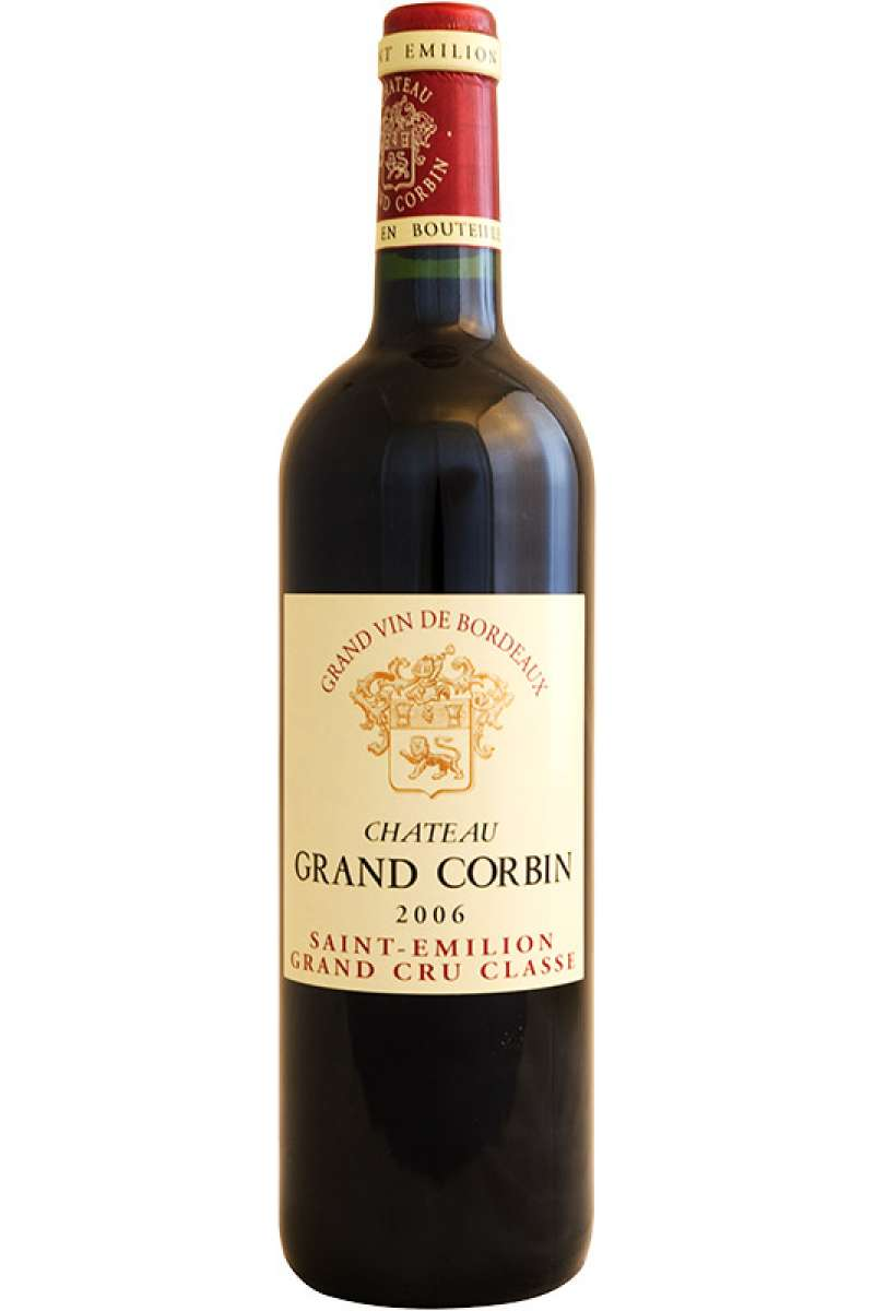 Chateau Grand Corbin, Grand Cru Classe, Saint-Émilion, Bordeaux, France, 2006