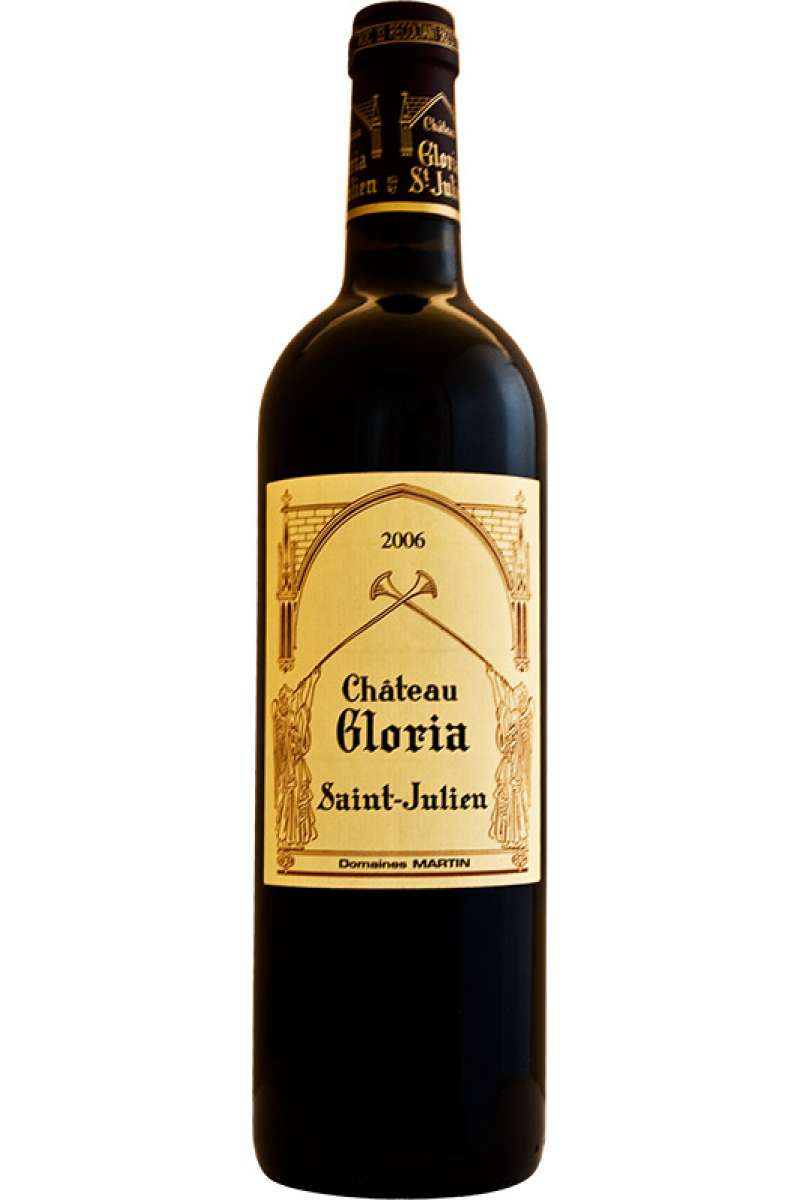 Chateau Gloria, Cru Exceptionnel, Saint-Julien AOC, Bordeaux, France, 2006