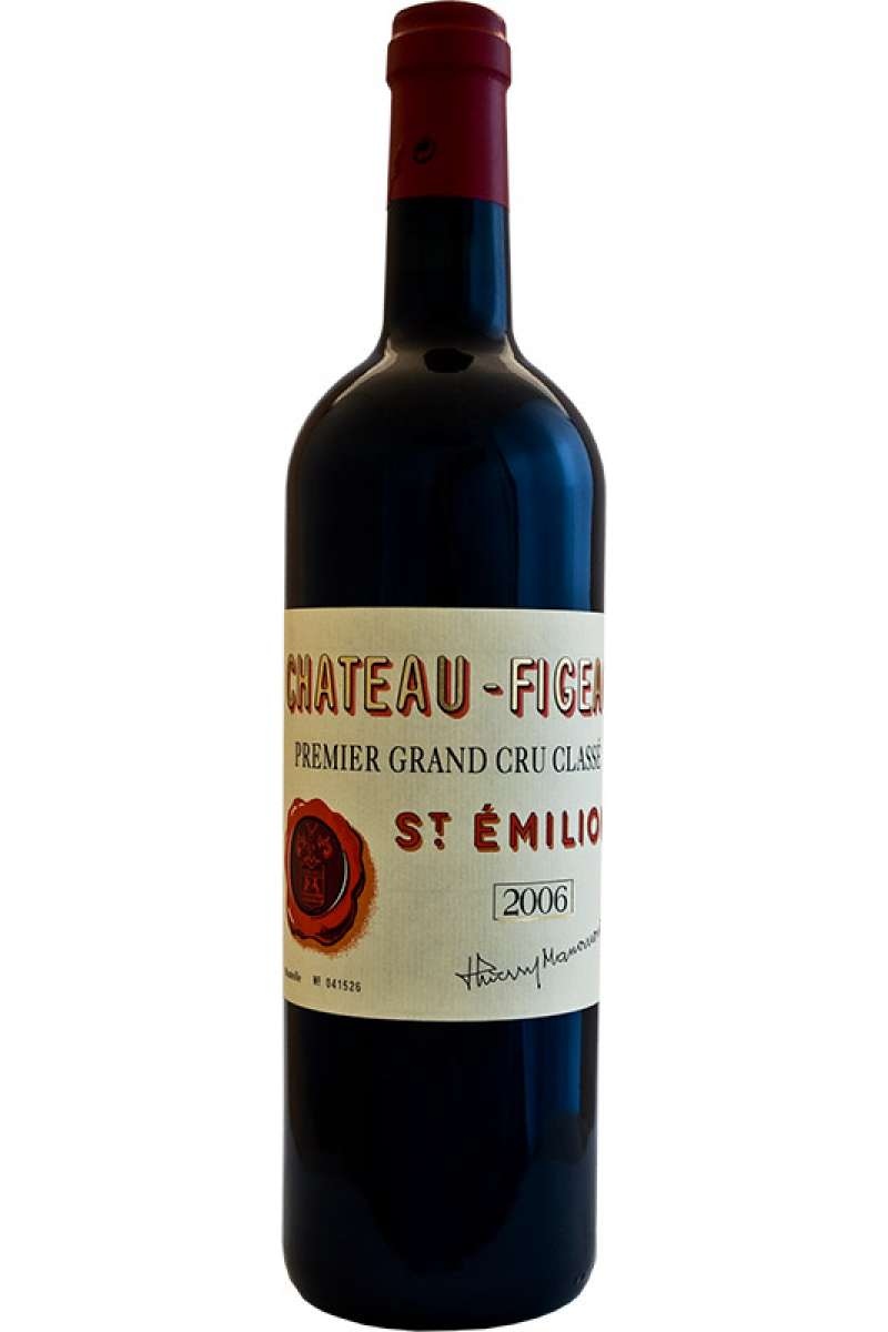 Chateau Figeac, 1er Grand Cru Classé, Saint-Émilion, Bordeaux, France, 2006