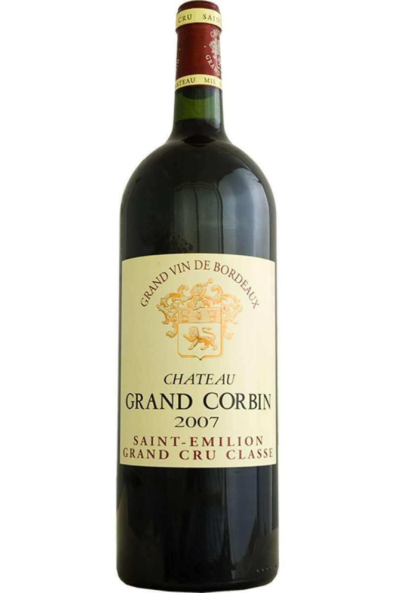 Chateau Grand Corbin, Grand Cru Classe, Saint-Émilion, Bordeaux, France, 2007 (Magnum - 150cl)