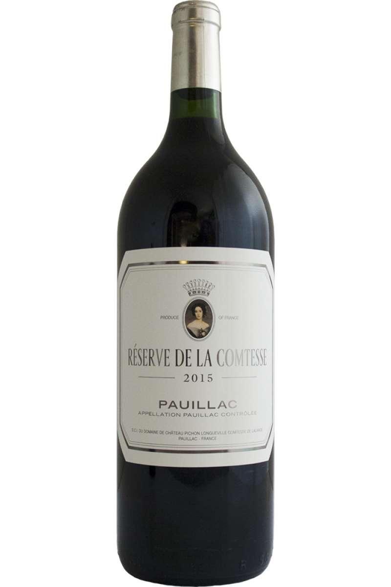 Reserve de la Comtesse de Lalande, 2nd Wine of Château  Pichon Longueville, Pauillac, Bordeaux, France 2015 (1.5L Magnum)