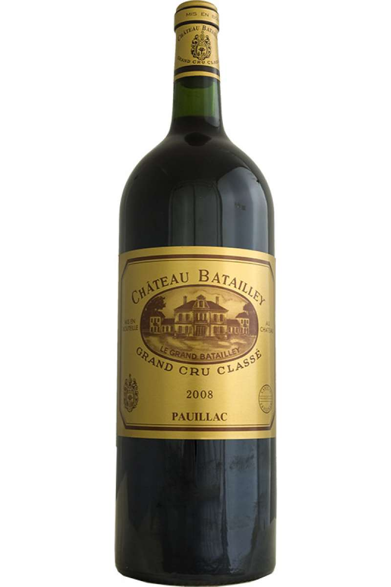 Chateau Batailley, 5éme Grand Cru Classé, Paulliac, Bordeaux, France, 2008 (Magnum - 150cl)