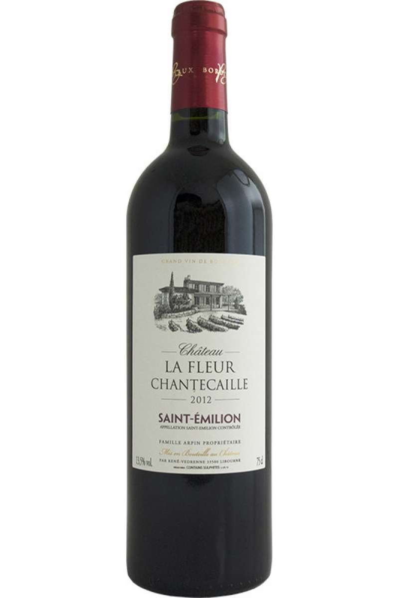 Chateau la Fleur Chantecaille Rouge, Saint-Émilion, Bordeaux, France, 2012