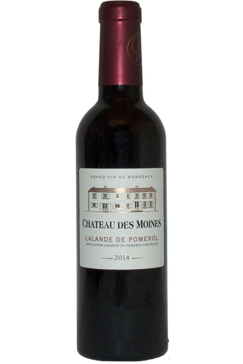 Château des Moines, Lalande de Pomerol, Bordeaux, France, 2014 (Half Bottle - 37.5cl)