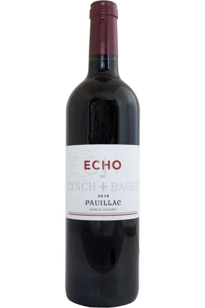 Echo de Lynch Bages, Pauillac, Bordeaux, France, 2016