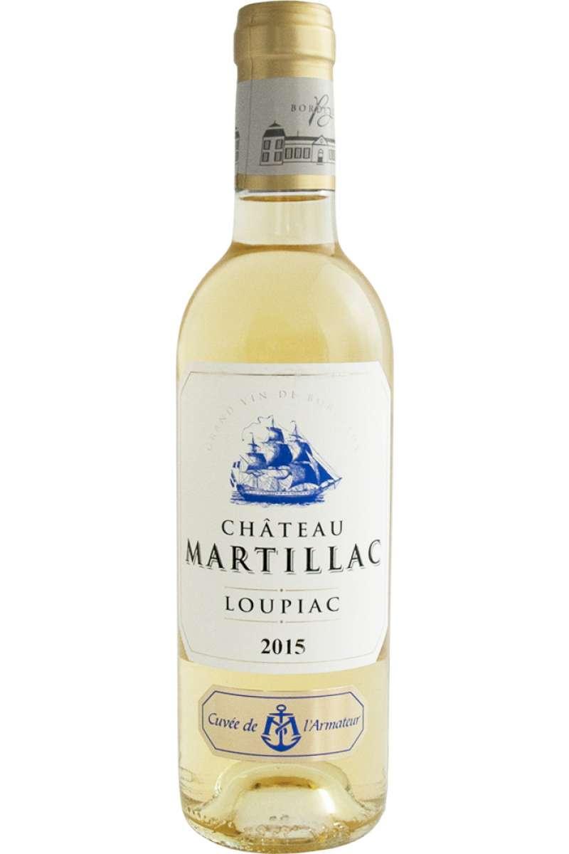 Château Martillac Cuvée de L'Armateur, Loupiac, France, 2015 (Half Bottle - 37.5cl)
