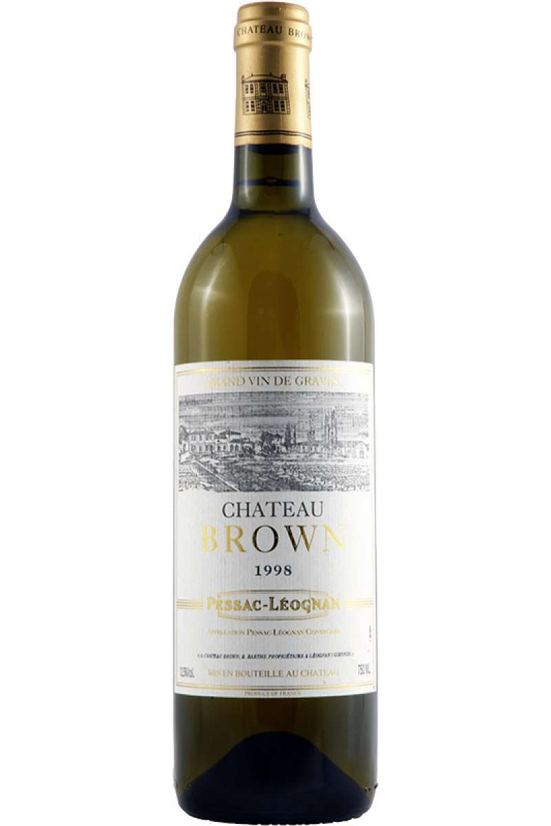 Chateau Brown Blanc, Pessac Leognan, France, 1998