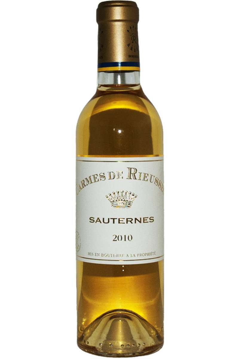 Chateau Carmes de Rieussec, Sauternes, Bordeaux, France, 2010 (Half Bottle - 37.5cl)