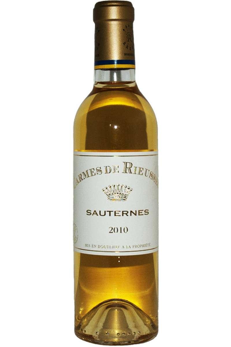 Chateau Carmes de Rieussec, Sauternes, Bordeaux, France, 2010 (Half Bottle - 37.5cl)