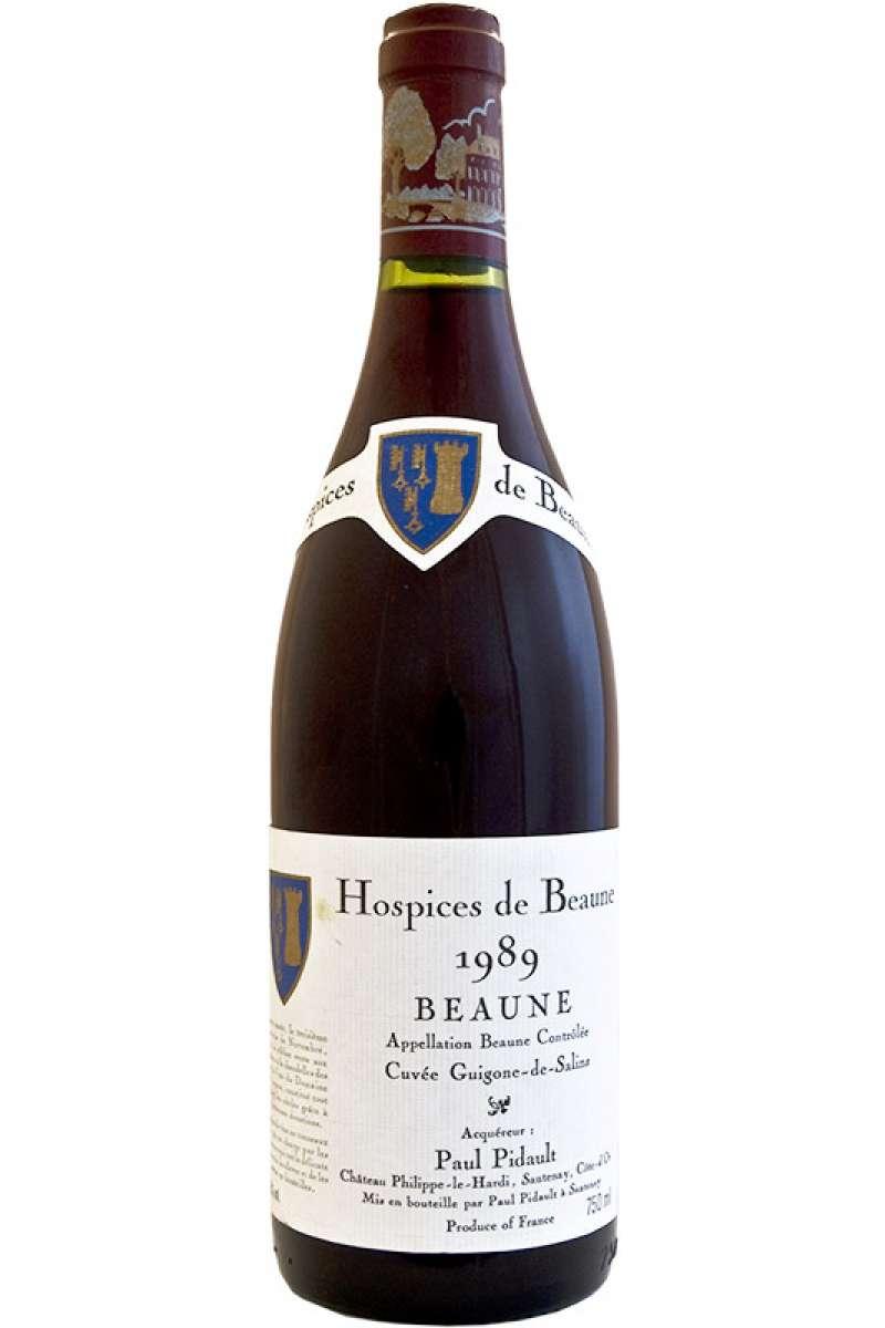 Beaune Cuvée Guigone de Salins, Hospices de Beaune, Chateau Philippe-le-Hardi, Bourgogne, France, 1989
