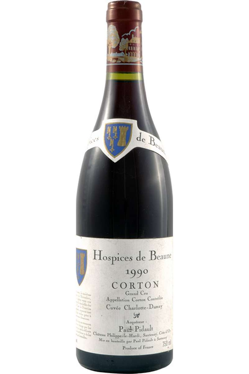 Corton Grand Cru, 'Cuvée Charlotte Dumay', Hospices de Beaune, Chateau Phillippe-le-Hardi, Bourgogne, France, 1990