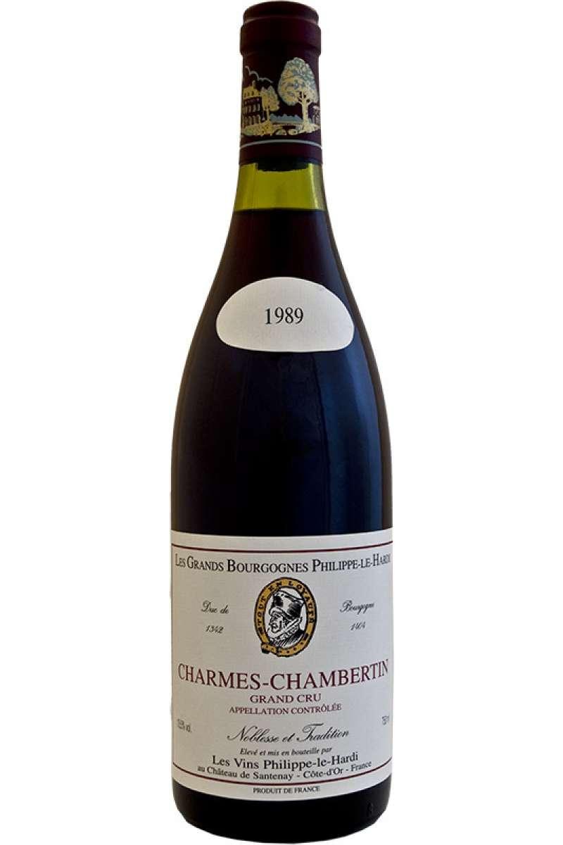 Charmes Chambertin, Grand Cru, Chateau Philippe-Le-Hardi, Bourgogne, France. 1989