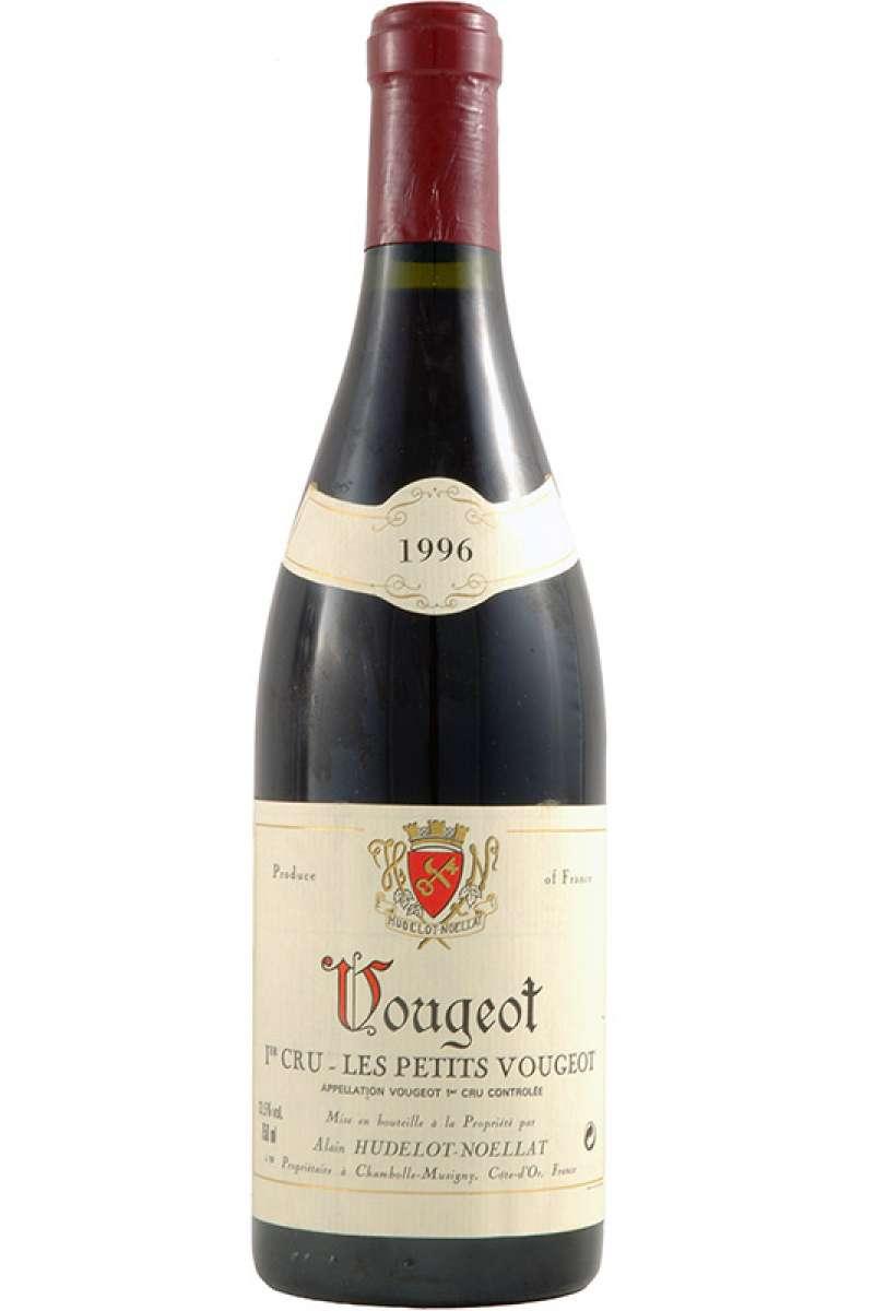 Vougeot, 1er Cru, Les Petits Vougeots, Domaine Alain Hudelot-Noellat, Bourgogne, France, 1996