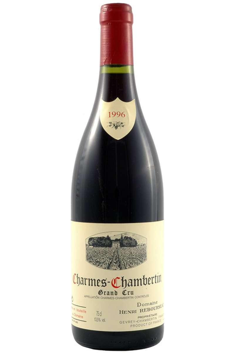 Charmes Chambertin Grand Cru, Domaine Rebourseau, Bourgogne, France, 1996