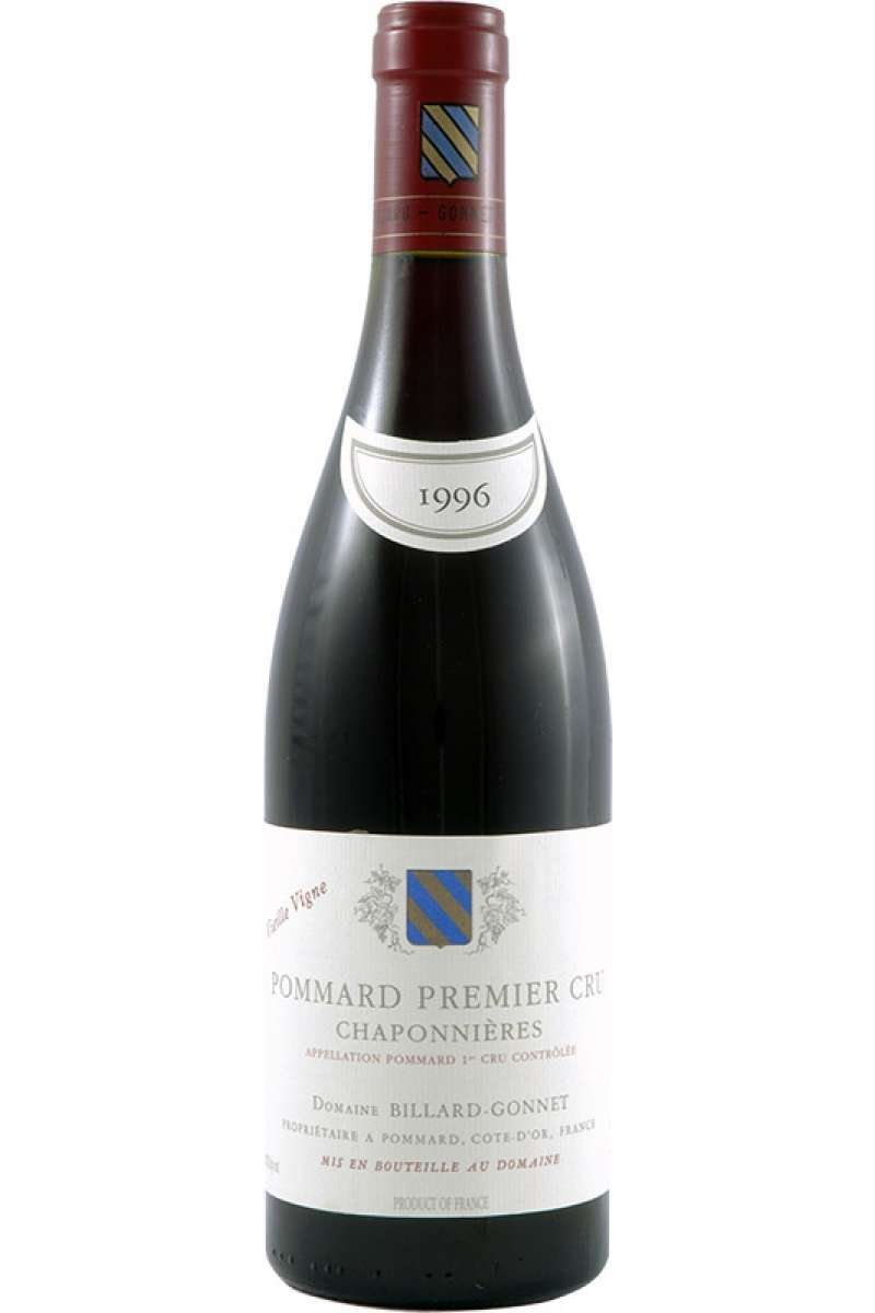 Pommard 1er Cru, 'Chaponnieres', Domaine Billard-Gonnet, Bourgogne, France, 1996