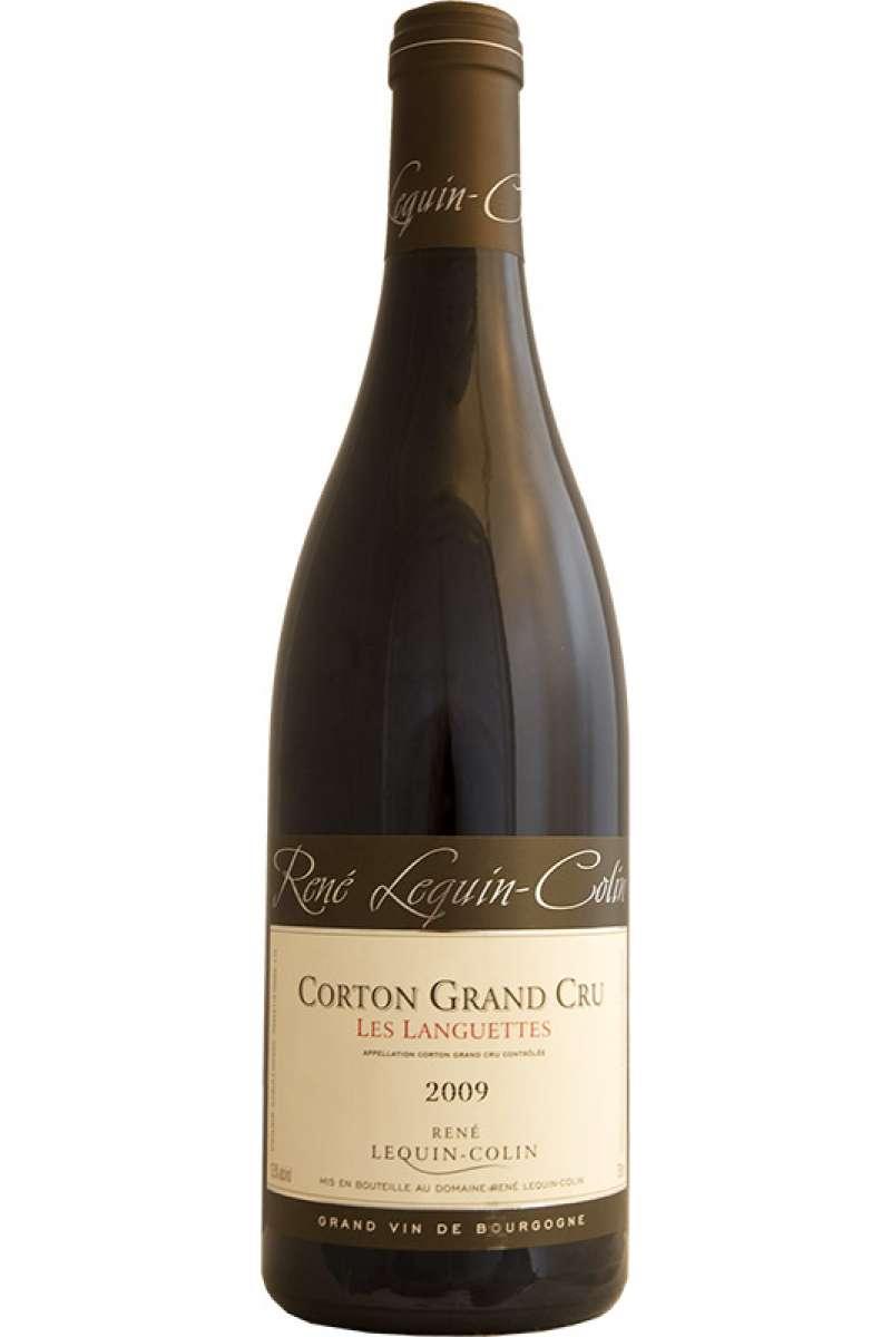 Corton Grand Cru, 'Les Languettes, Domaine René Lequin Colin, Bourgogne, France, 2009