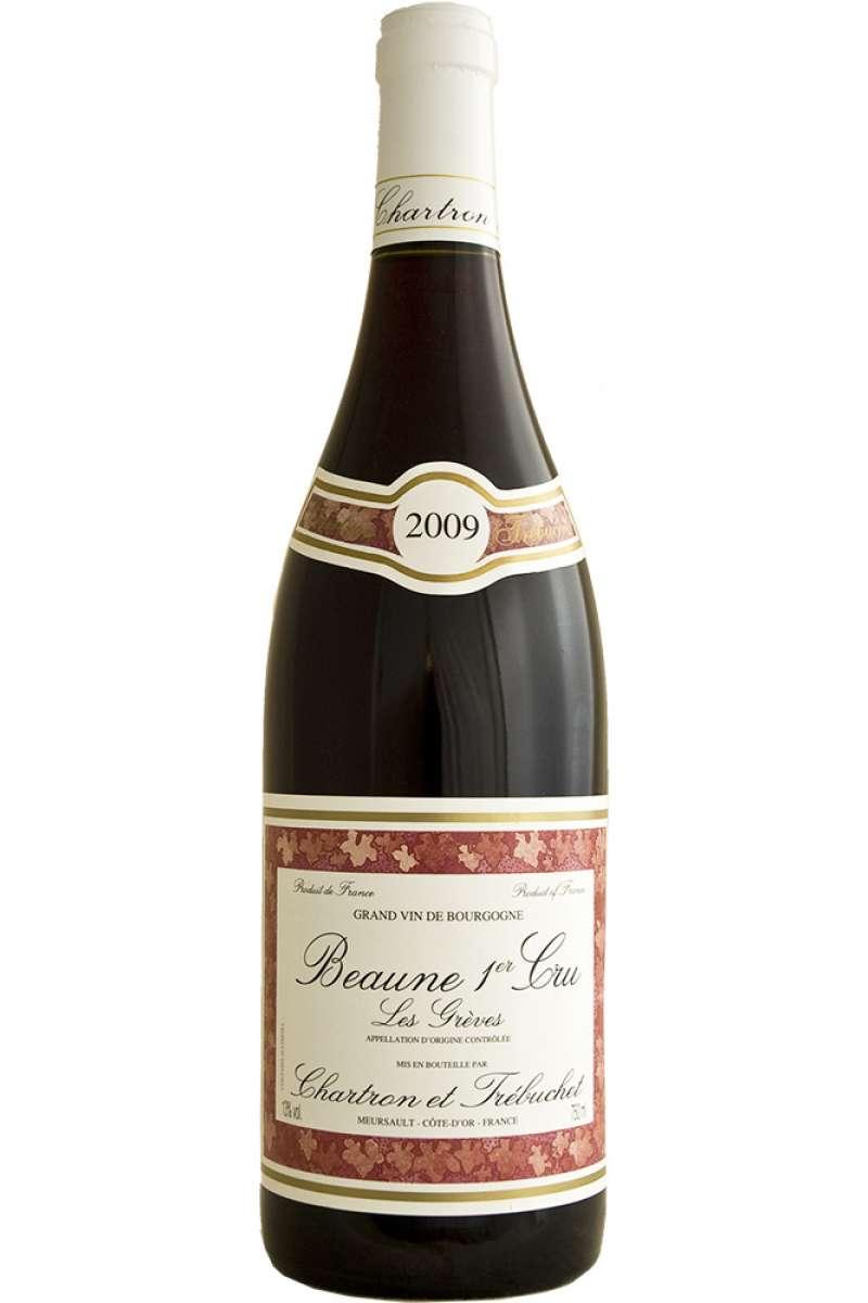 Beaune 1er Cru, Les Greves, Chartron et Trebuchet, Bourgogne, France, 2009