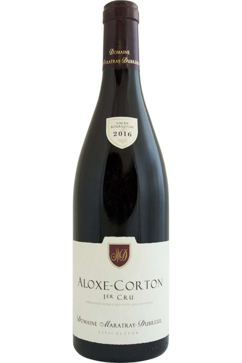 Aloxe-Corton, 1er Cru, Domaine Maratray Dubreuil, Burgundy, France, 2016