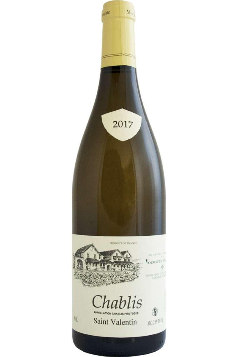 Chablis, St. Valentin, Domaine Vocoret & Fils, Burgundy, France, 2017