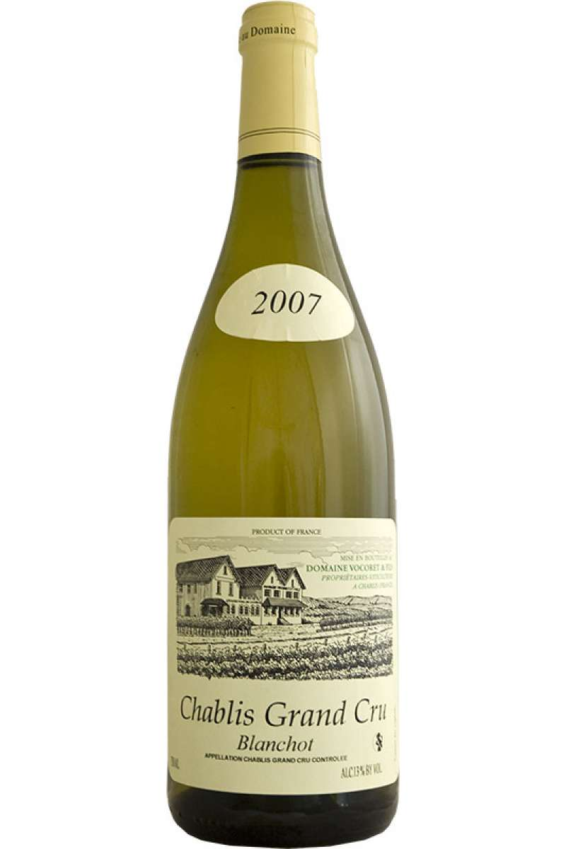 Chablis Grand Cru, Blanchot, Domaine Vocoret & Fils, Burgundy, France, 2007